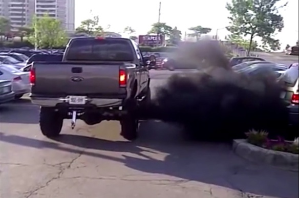 rolling-coal-parking-lot-f-150